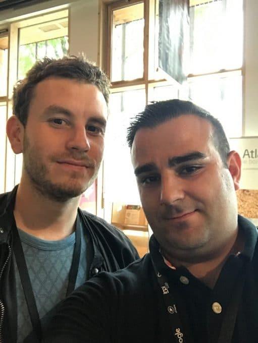 Julien Jimenez et Romain Mikula