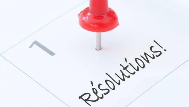 résolutions web de 2018